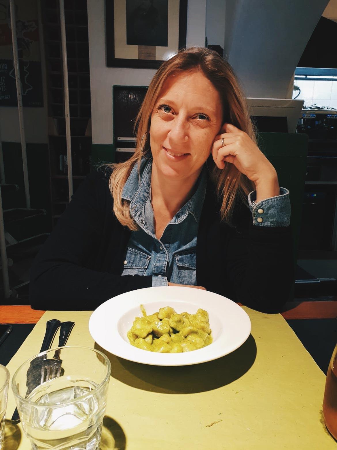 Gnocchi al pesto - Genova - In viaggio con Monica