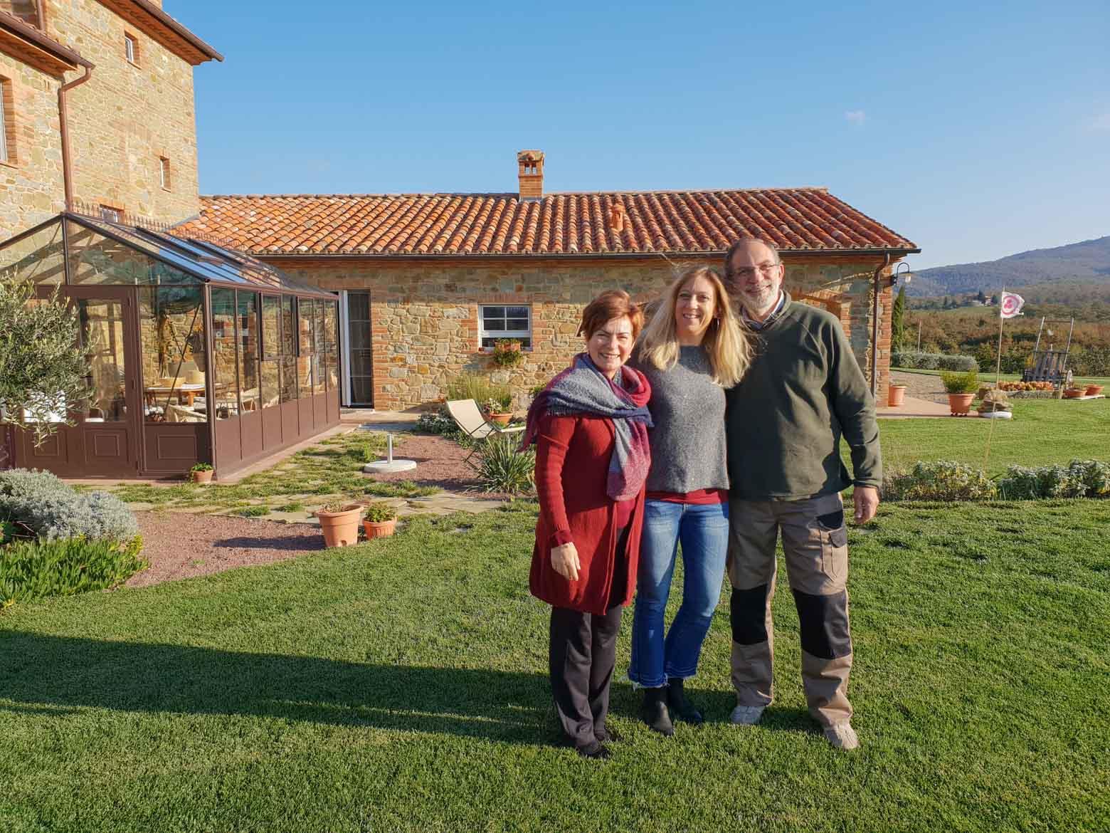 Casa Antheia - Cesare e Maria - In viaggio con Monica