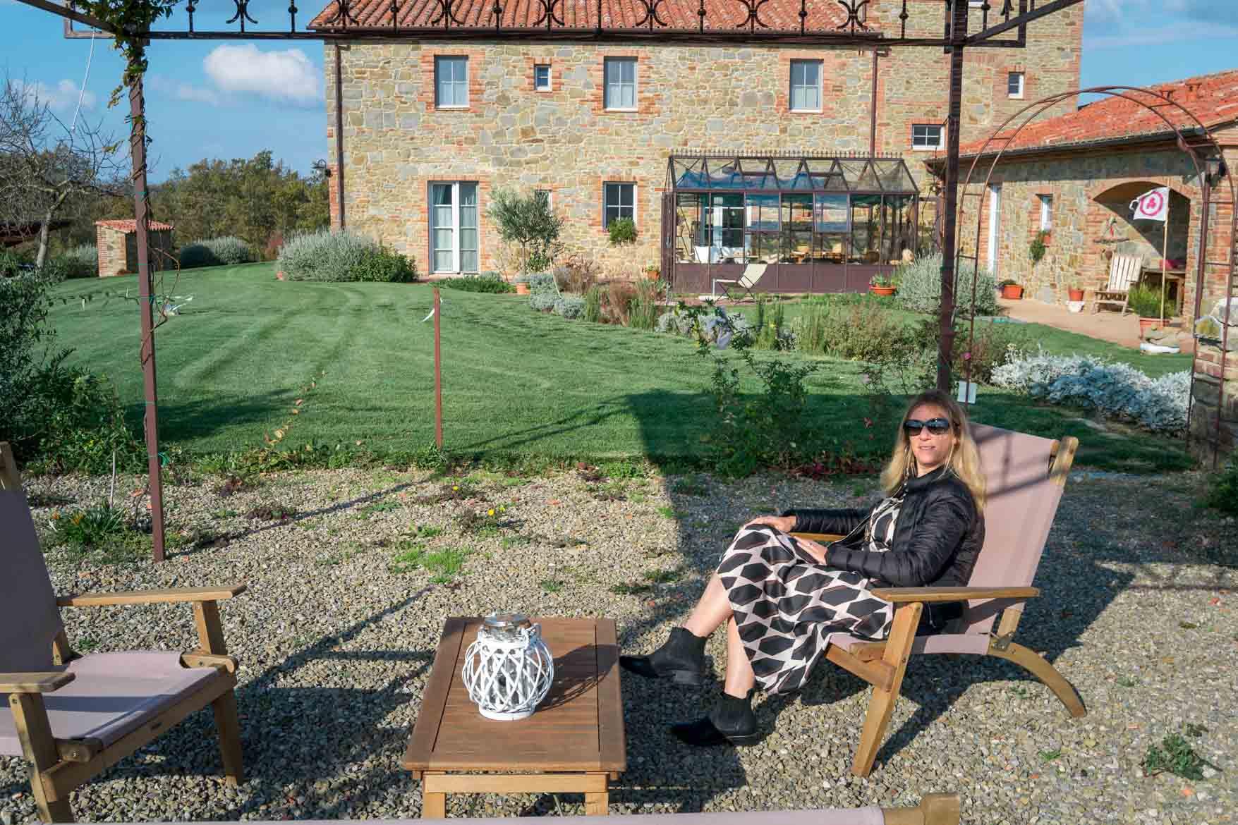 Casa Antheia giardino - In viaggio con Monica