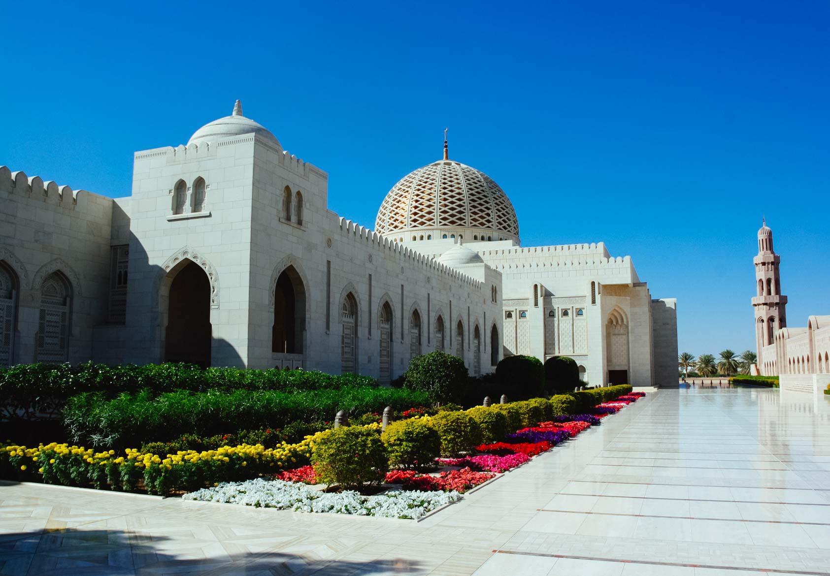 Oman Grande Moschea - In viaggio con Monica