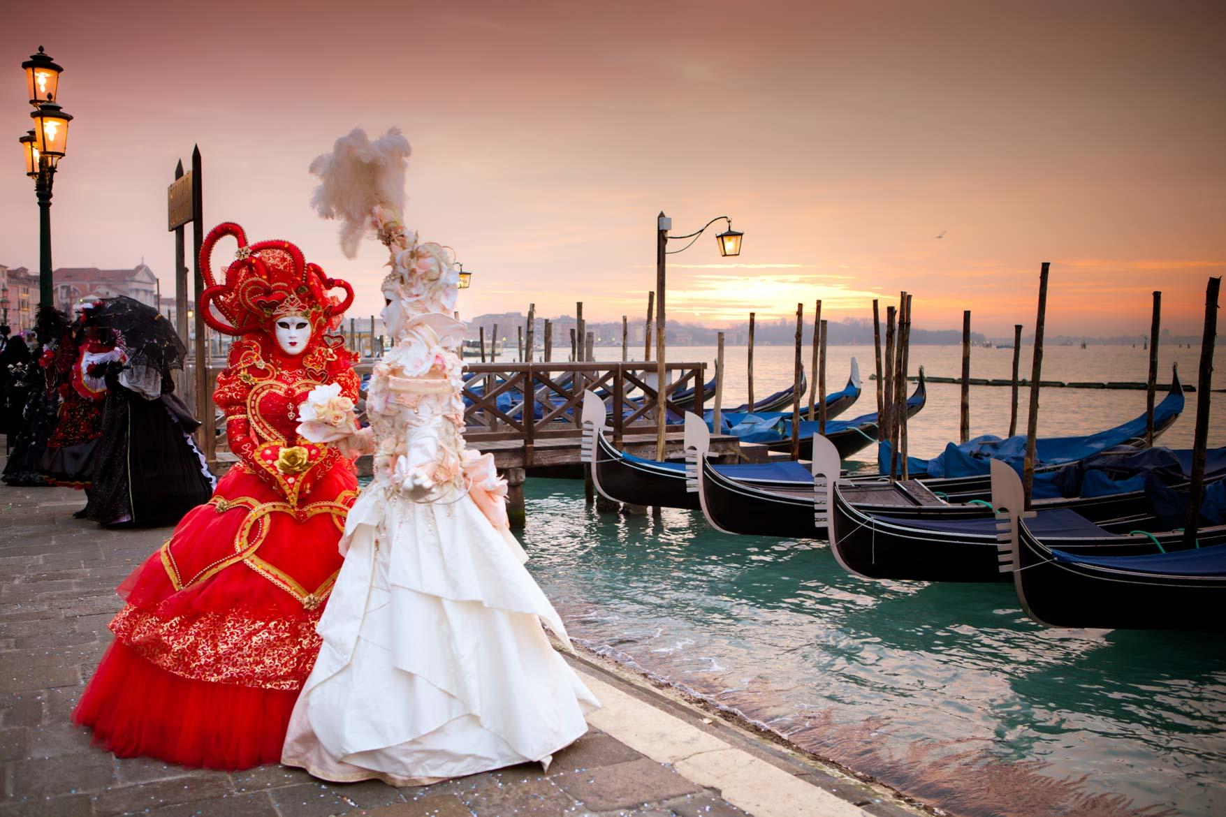 Carnevale Venezia - In viaggio con Monica