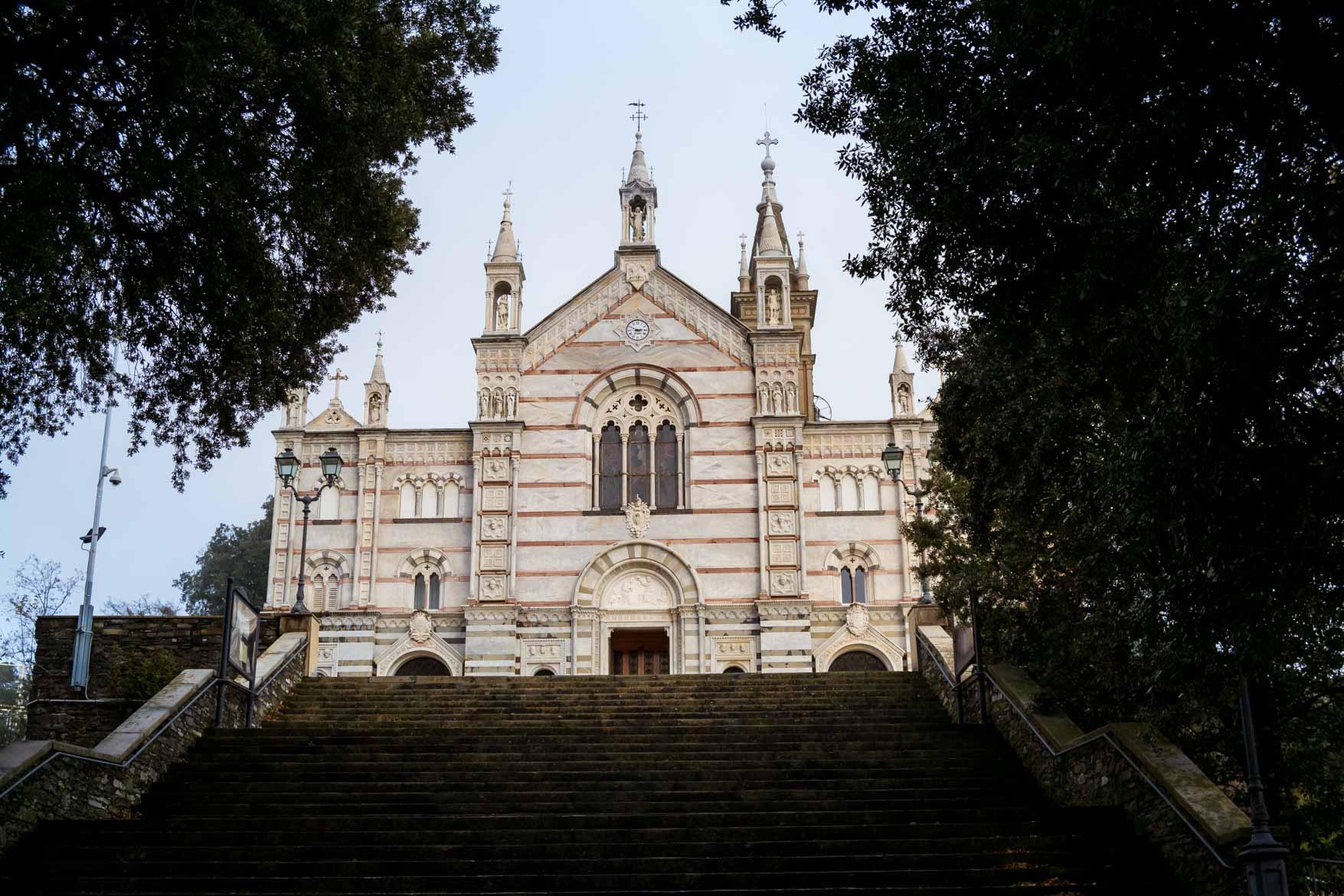Rapallo santuario montallegro - In viaggio con Monica