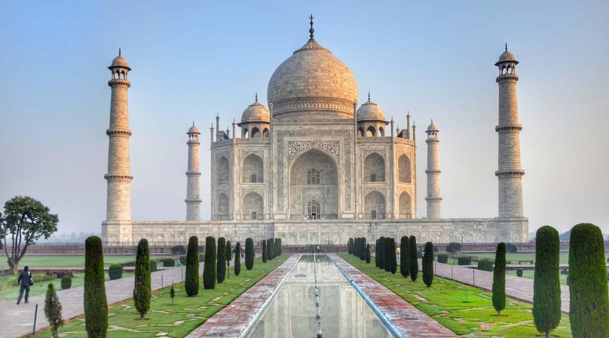 Taj Mahal India - Dove andare in vacanza a marzo