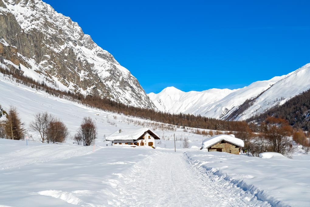 Cosa fare in Val Ferret in inverno - Tronchey