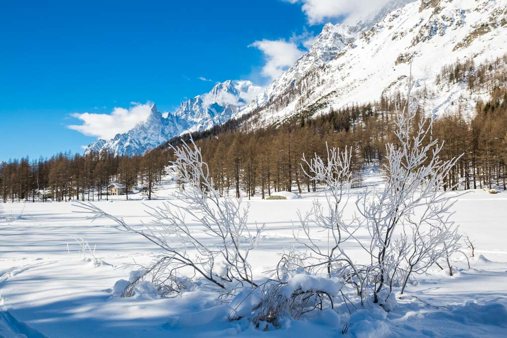 Cosa fare in Val Ferret in inverno