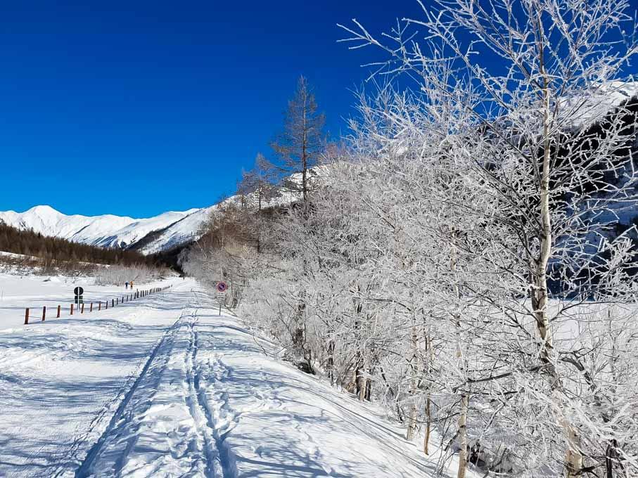 Cosa fare in Val Ferret in inverno - passeggiata
