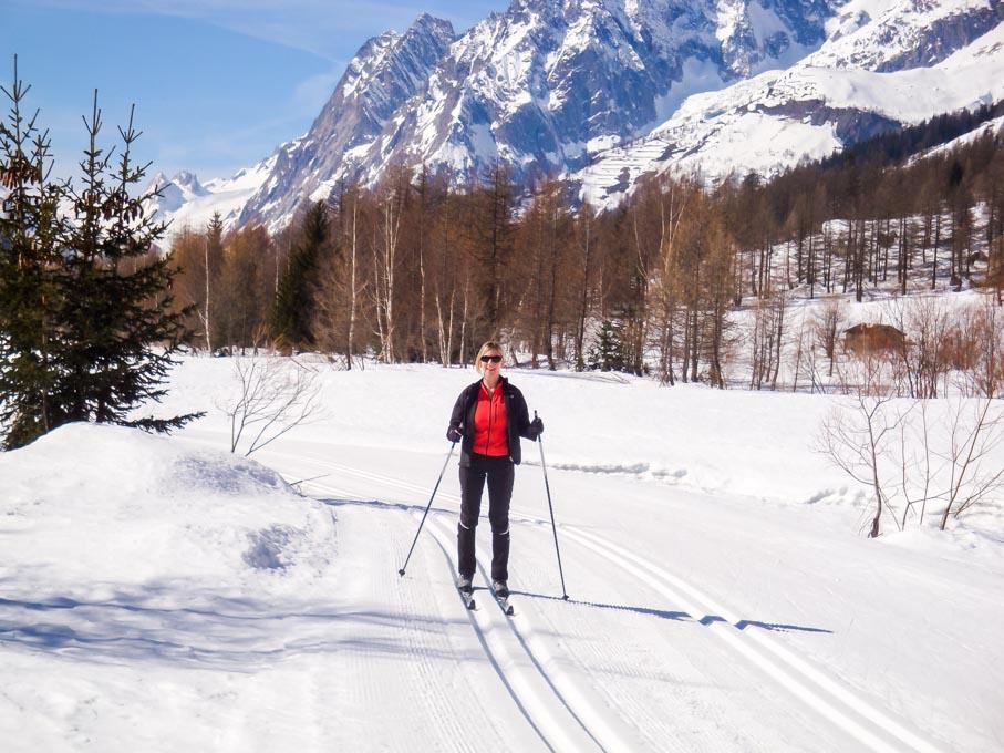 Cosa fare in Val Ferret inverno - sci fondo