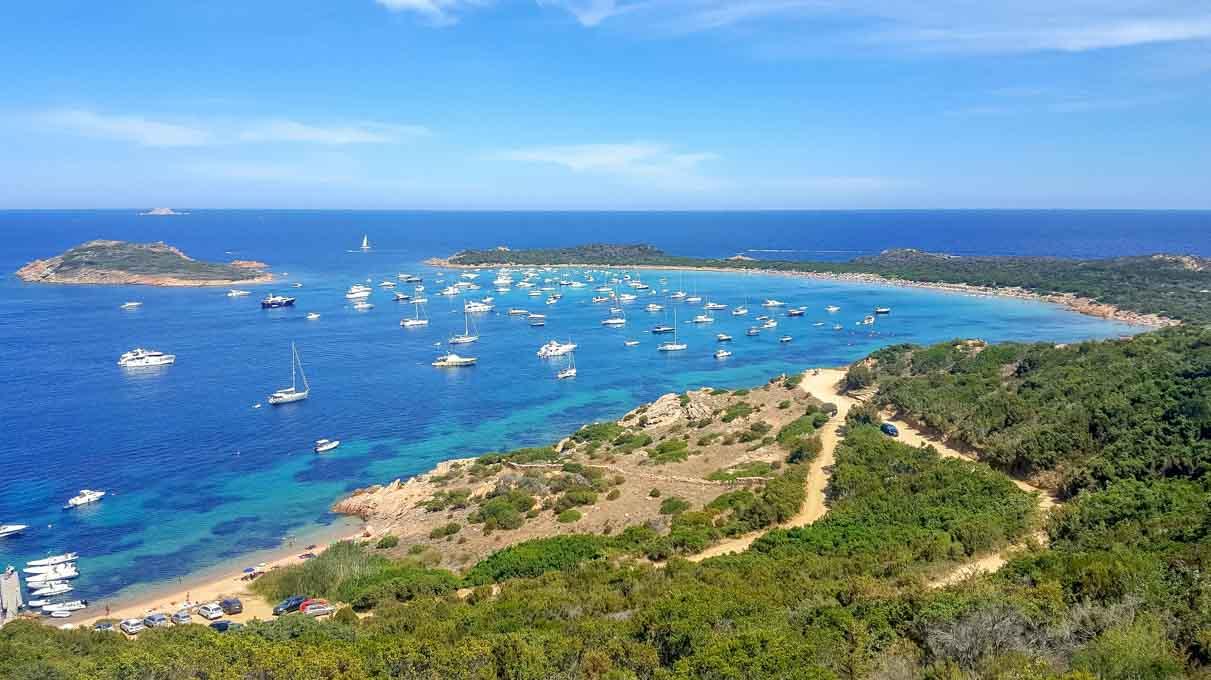 Spiaggia Capo Coda Cavallo Sardegna