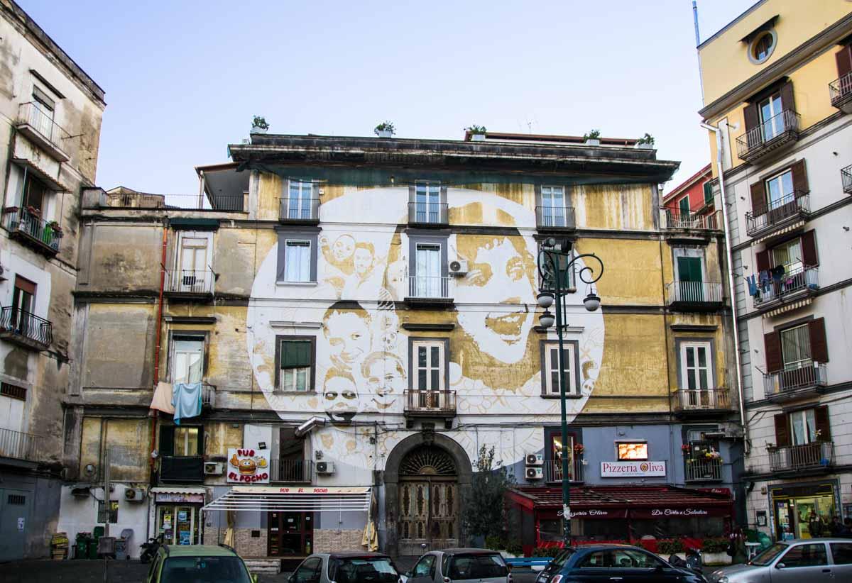murales Tono Cruz - Rione Sanità