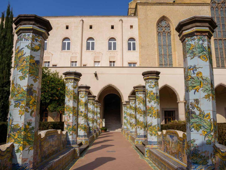 Napoli: cosa vedere in 3 giorni - Chiostro Santa Chiara