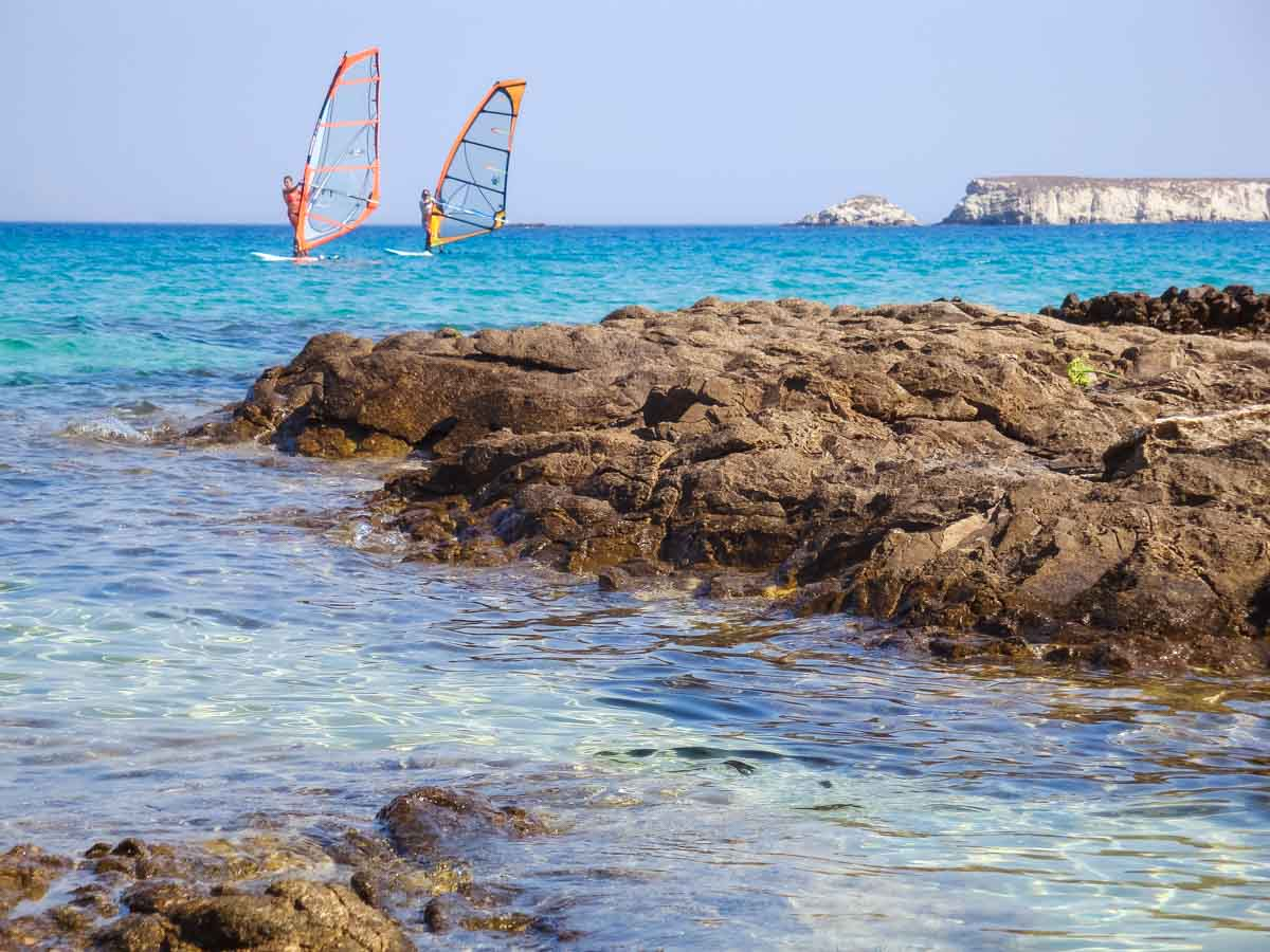 Cosa fare in vacanza a Paros - golden Beach