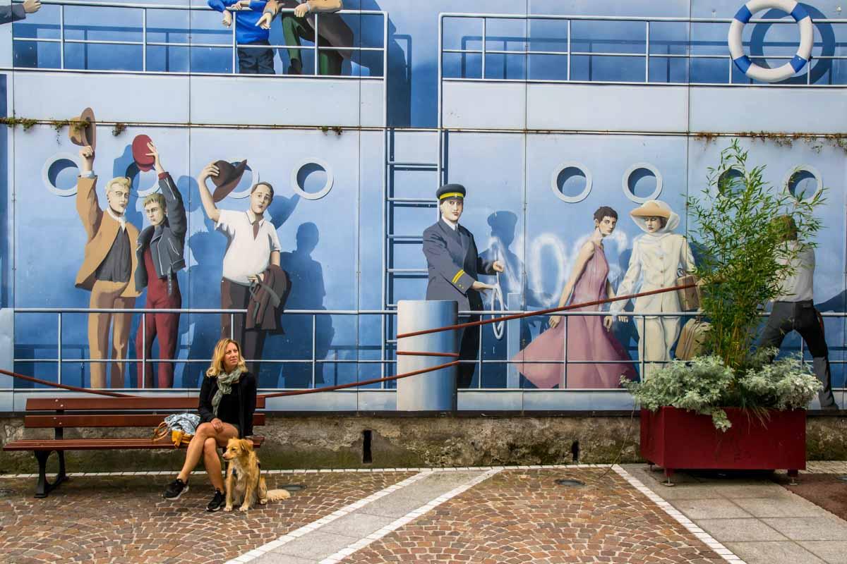 Evian-les-Bains street art