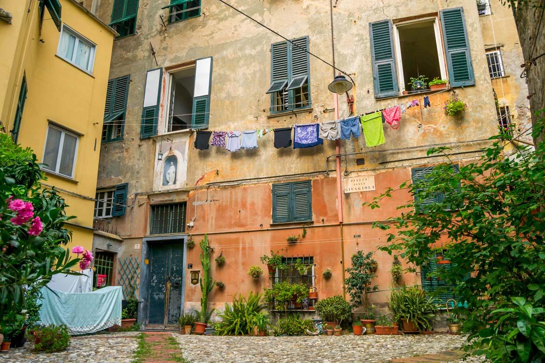 Quartiere del carmine - Genova