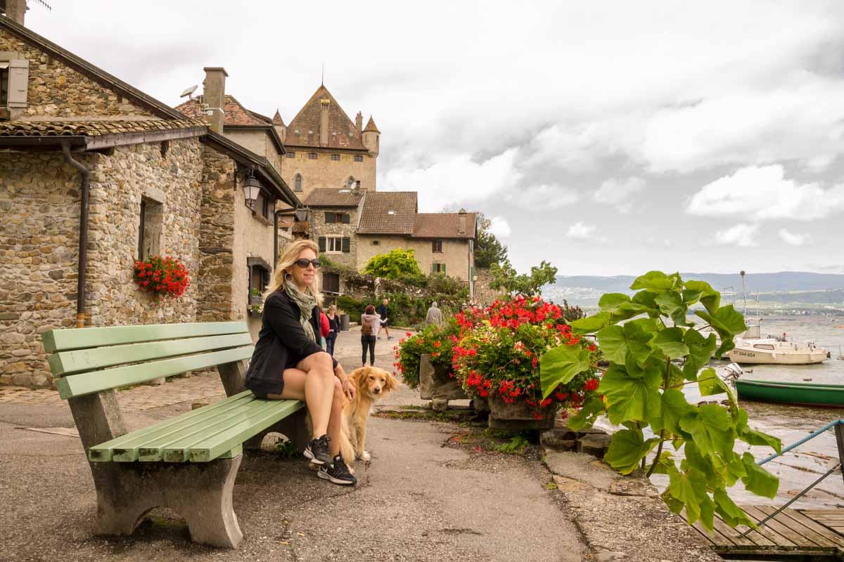 Castello Yvoire - In viaggio con Monica