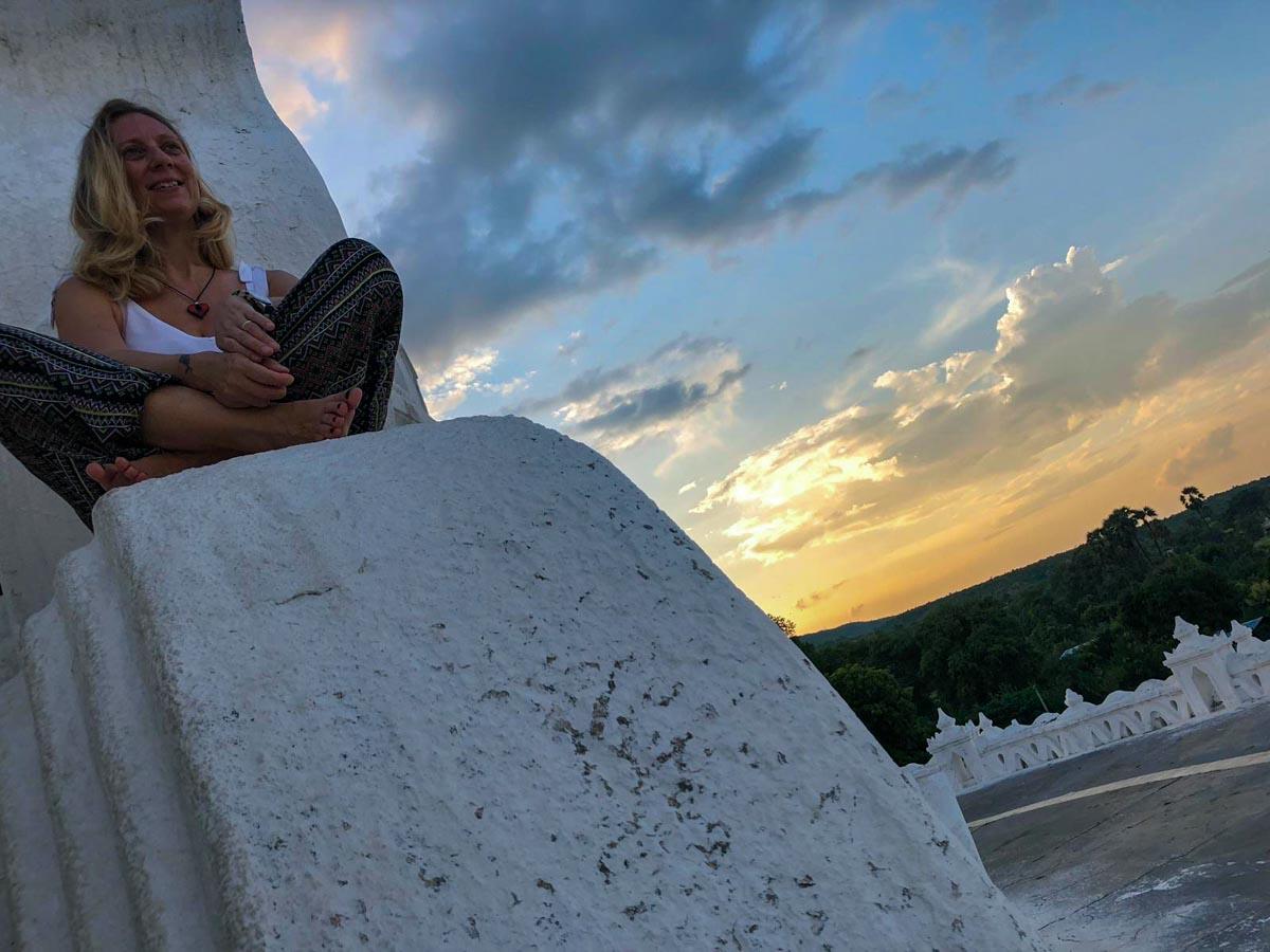 pagoda bianca Myanmar