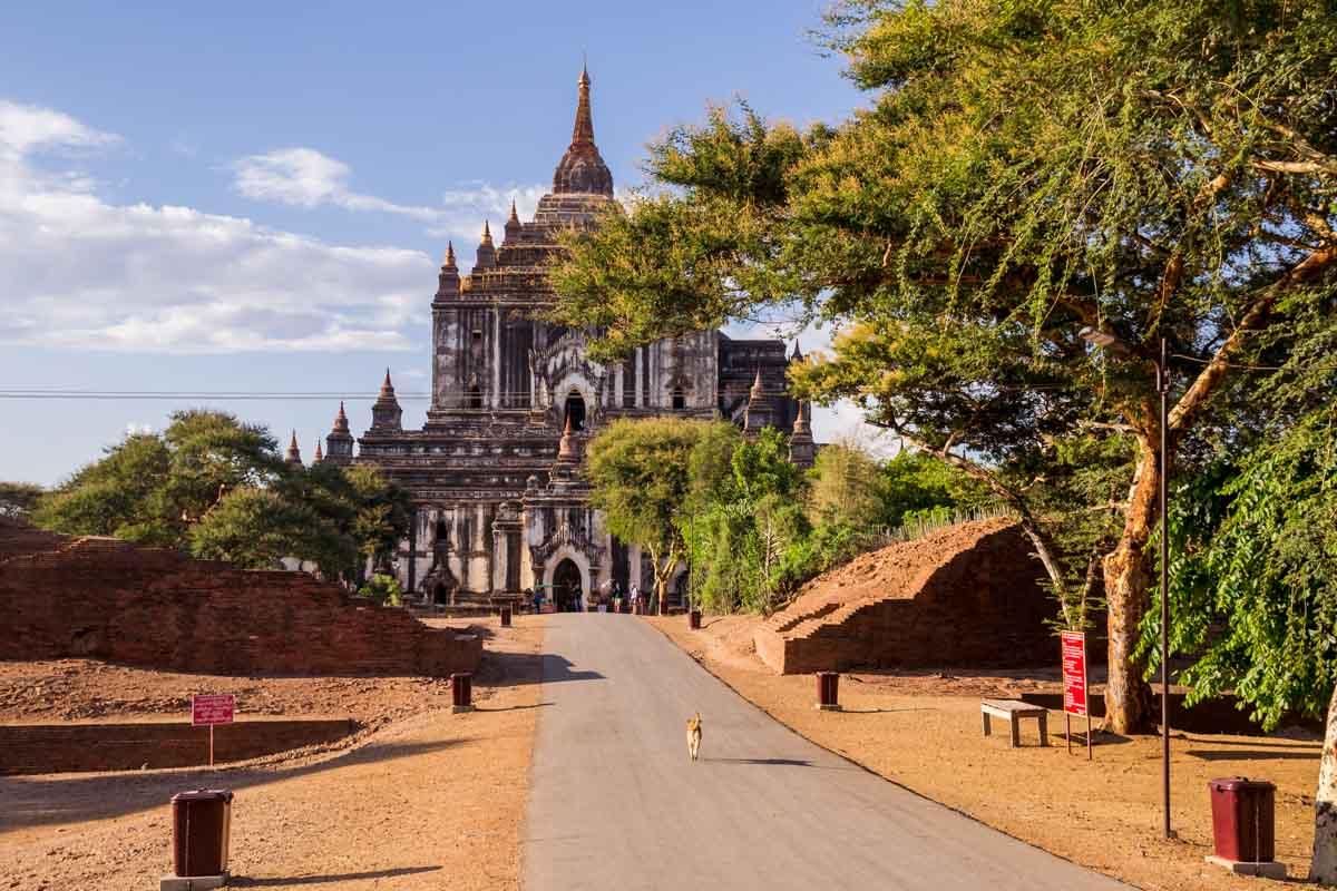 Viaggio in Myanmar - Pagoda Thatbyinnyu