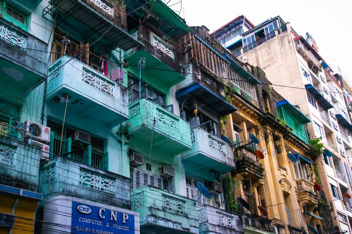 Palazzi Yangon