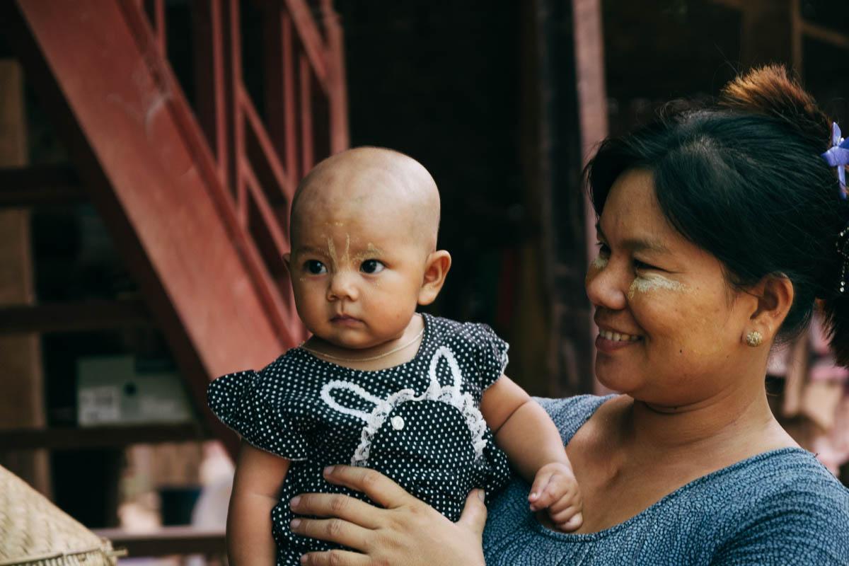 Viaggio in Myanmar - Yandabo
