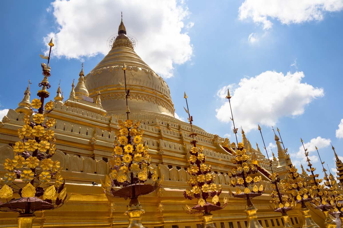 Viaggio in Myanmar - Pagoda Schwezigon