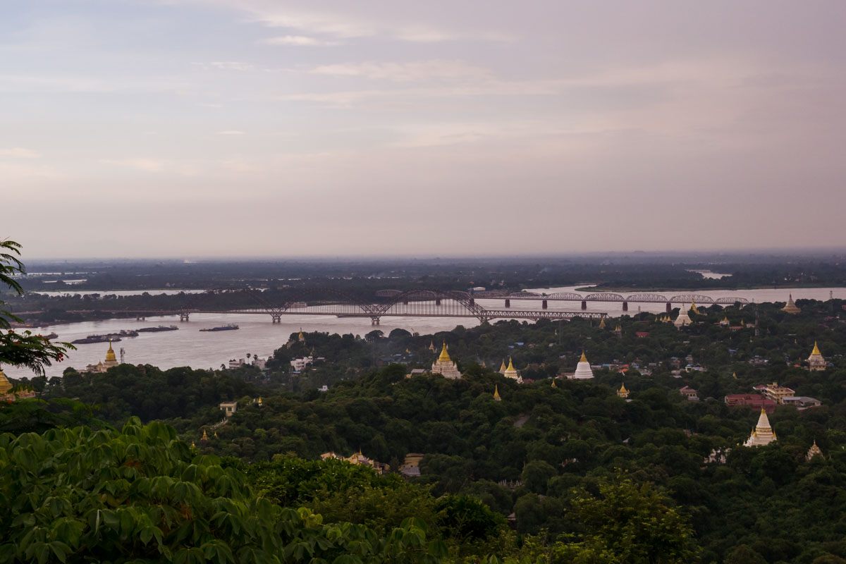 Mandalay collina Sagaing