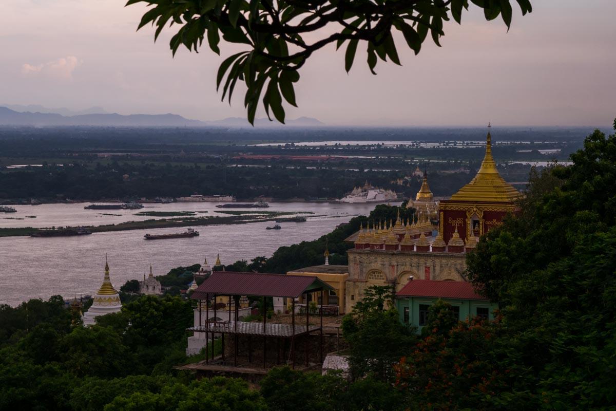Collina Sagaing Mynamar