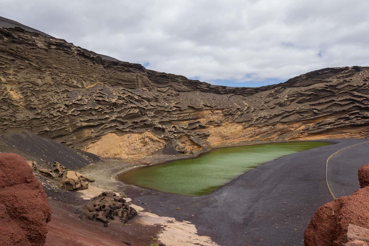 Cosa vedere a Lanzarote: lago verde