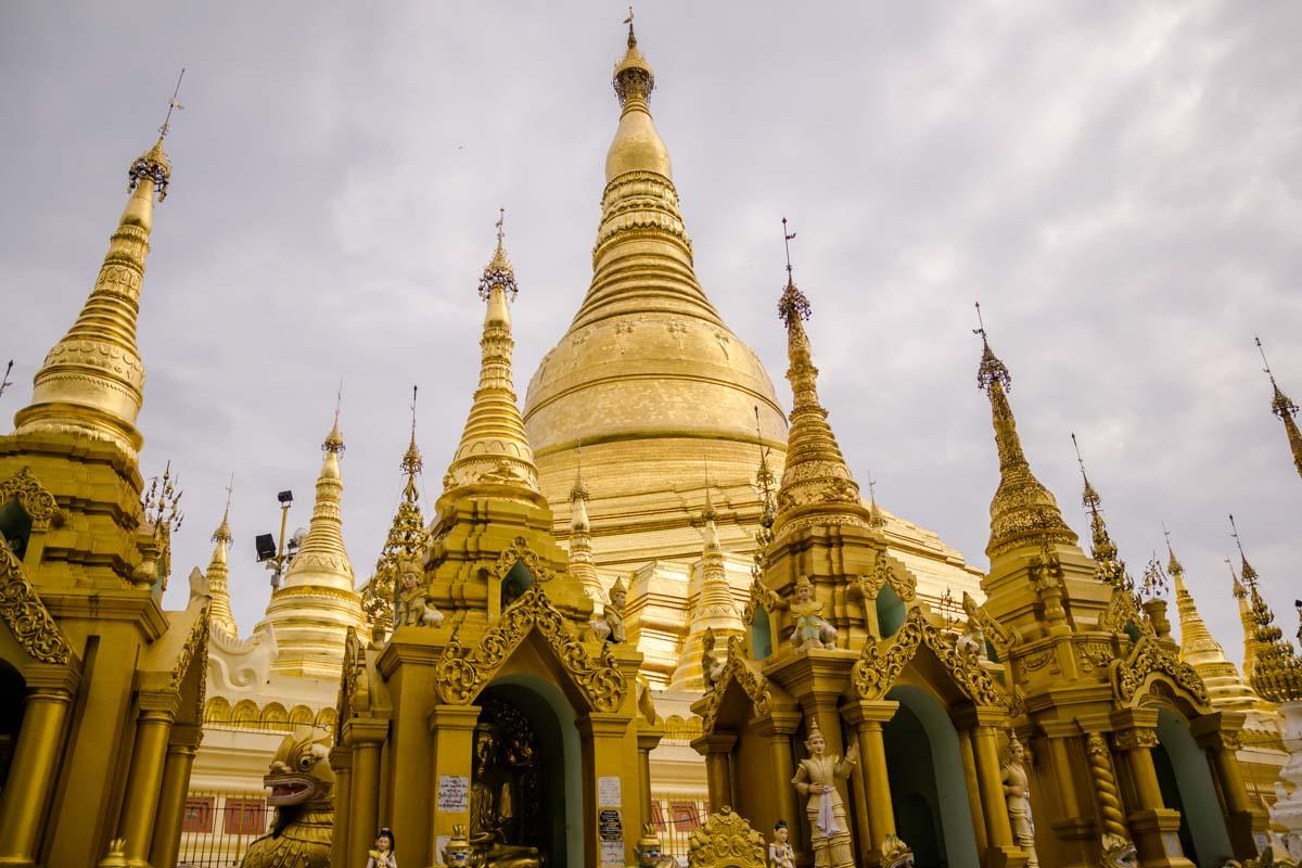 Pagoda d'Oro Yangon