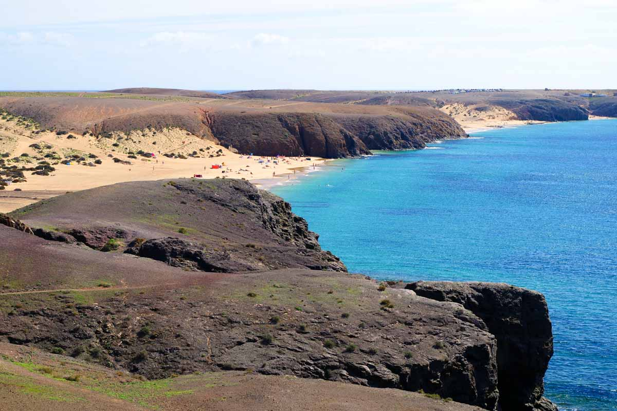 Spiagge del papagayo Lanzarote