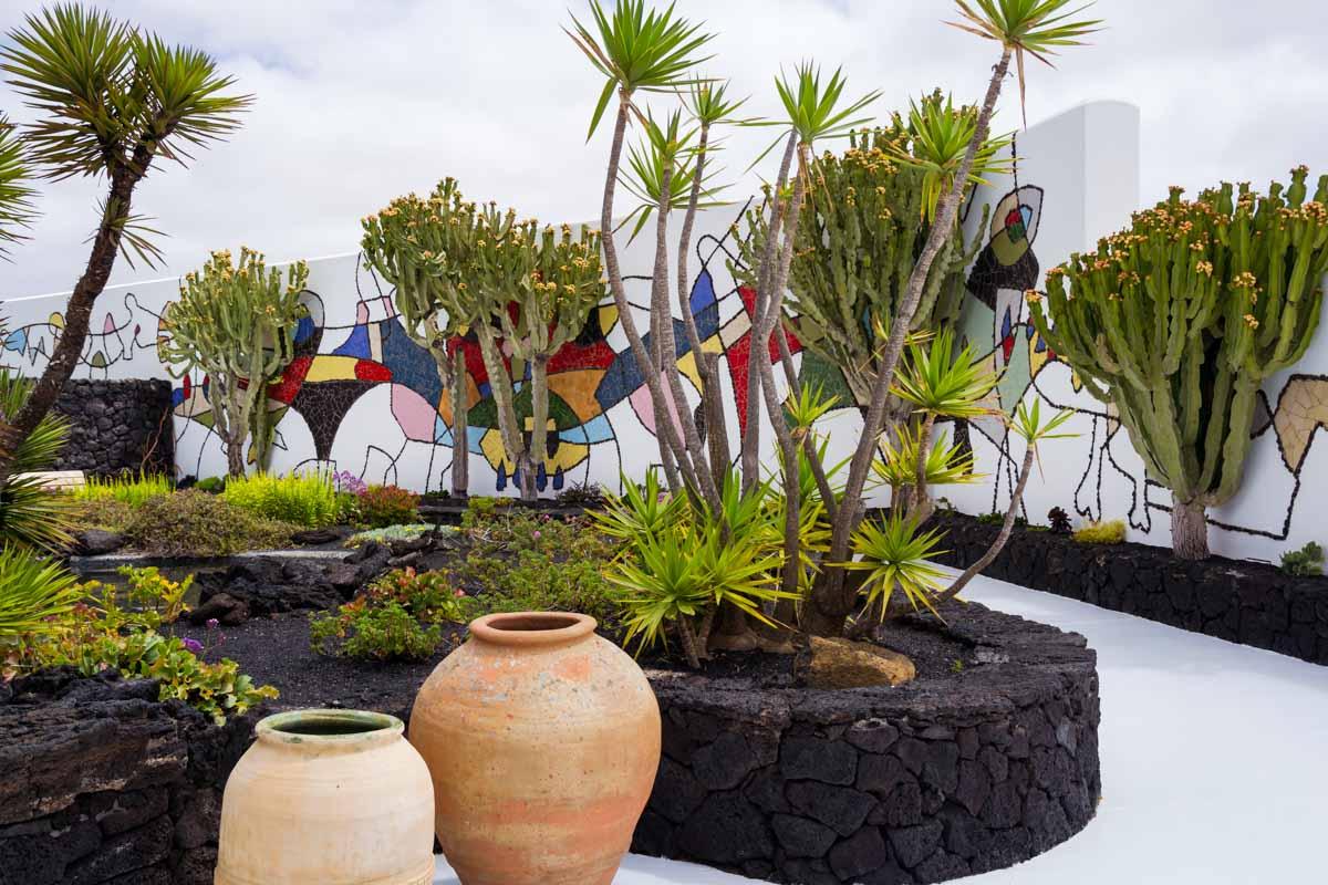 Giardino fondazione Cesar Manrique