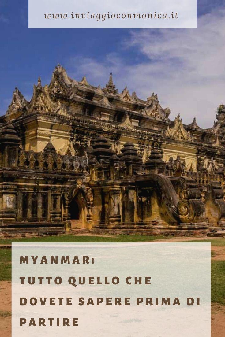 Pin informazioni utili Myanmar