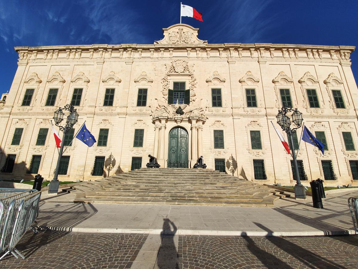 La Valletta - Palazzo Auberge de Castille