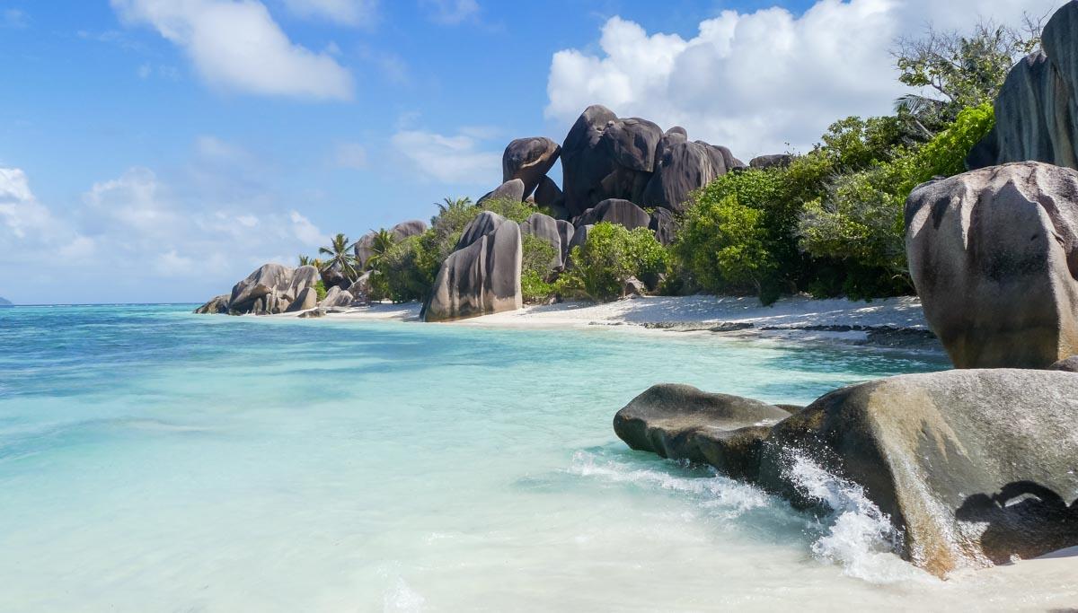 Viaggio di nozze romantico: Seychelles