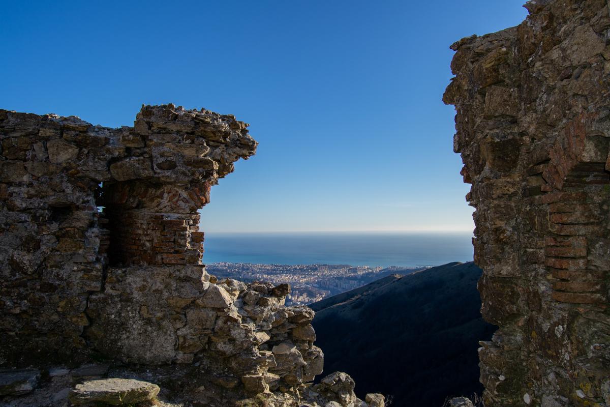 Panorama dai Forti di Genova