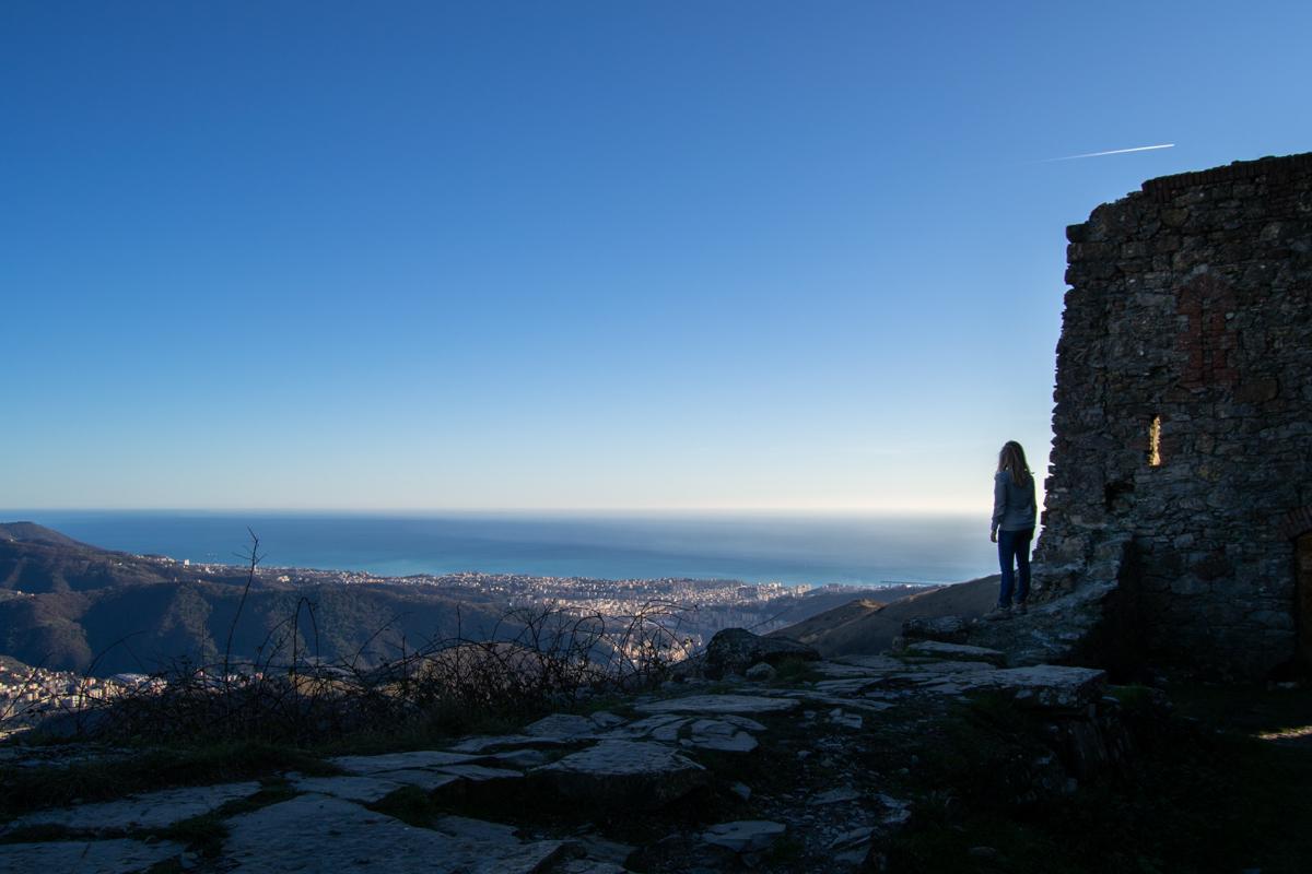 Vista dai Forti di Genova