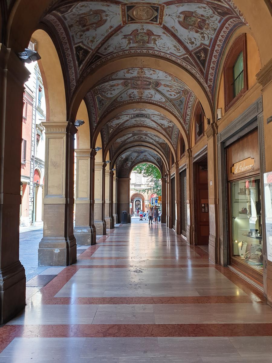 Portici a Bologna