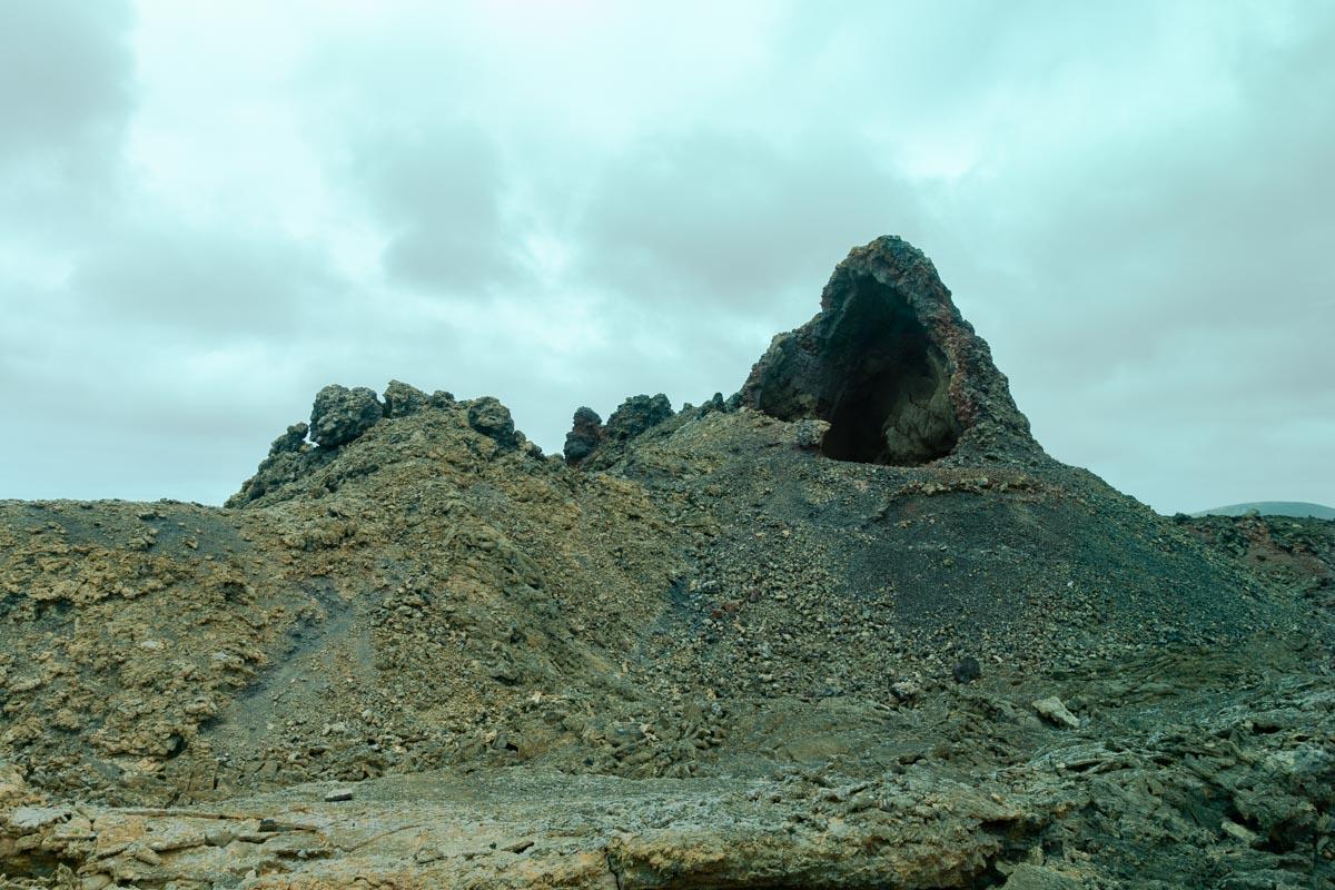 Rocce di lava nel parco nazionale del Timanfaya