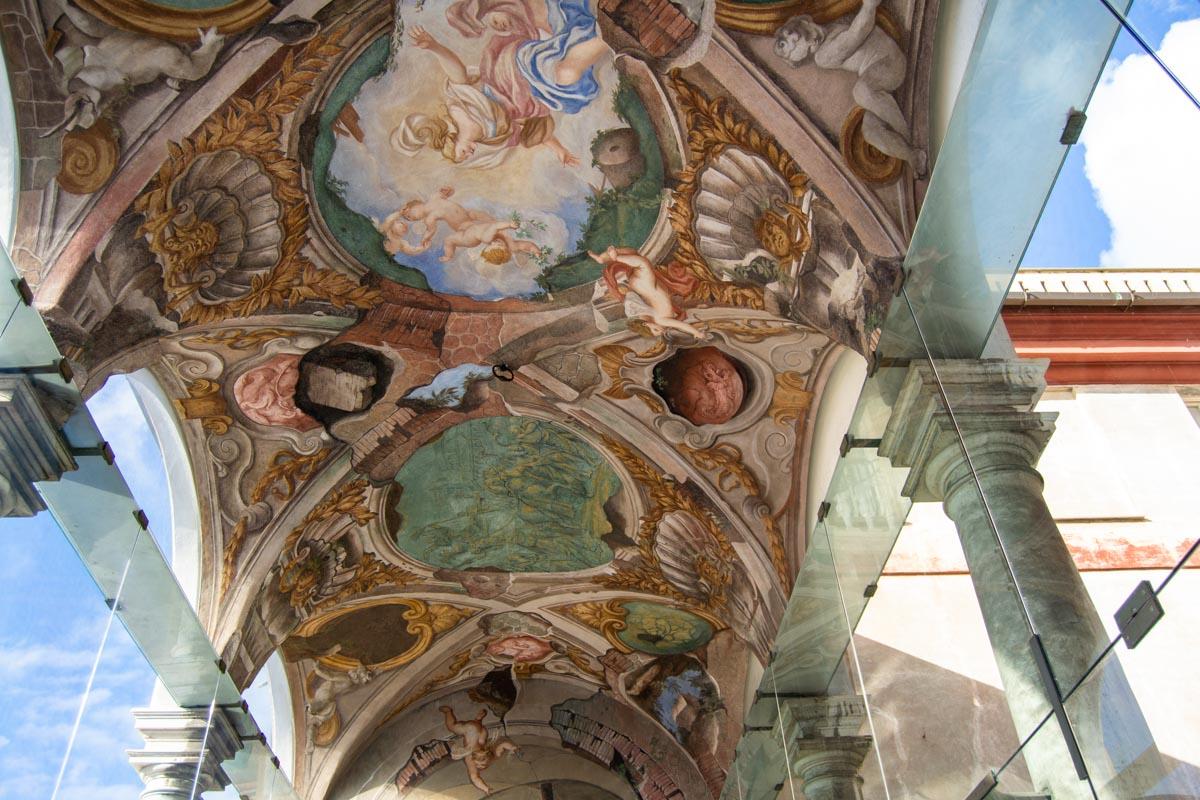 Affreschi Palazzo Rosso Genova