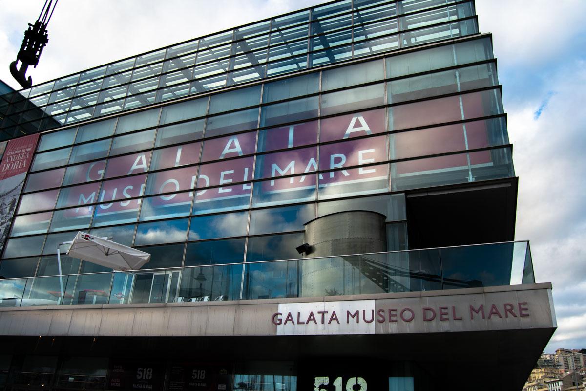 Ingresso Galata Museo del Mare