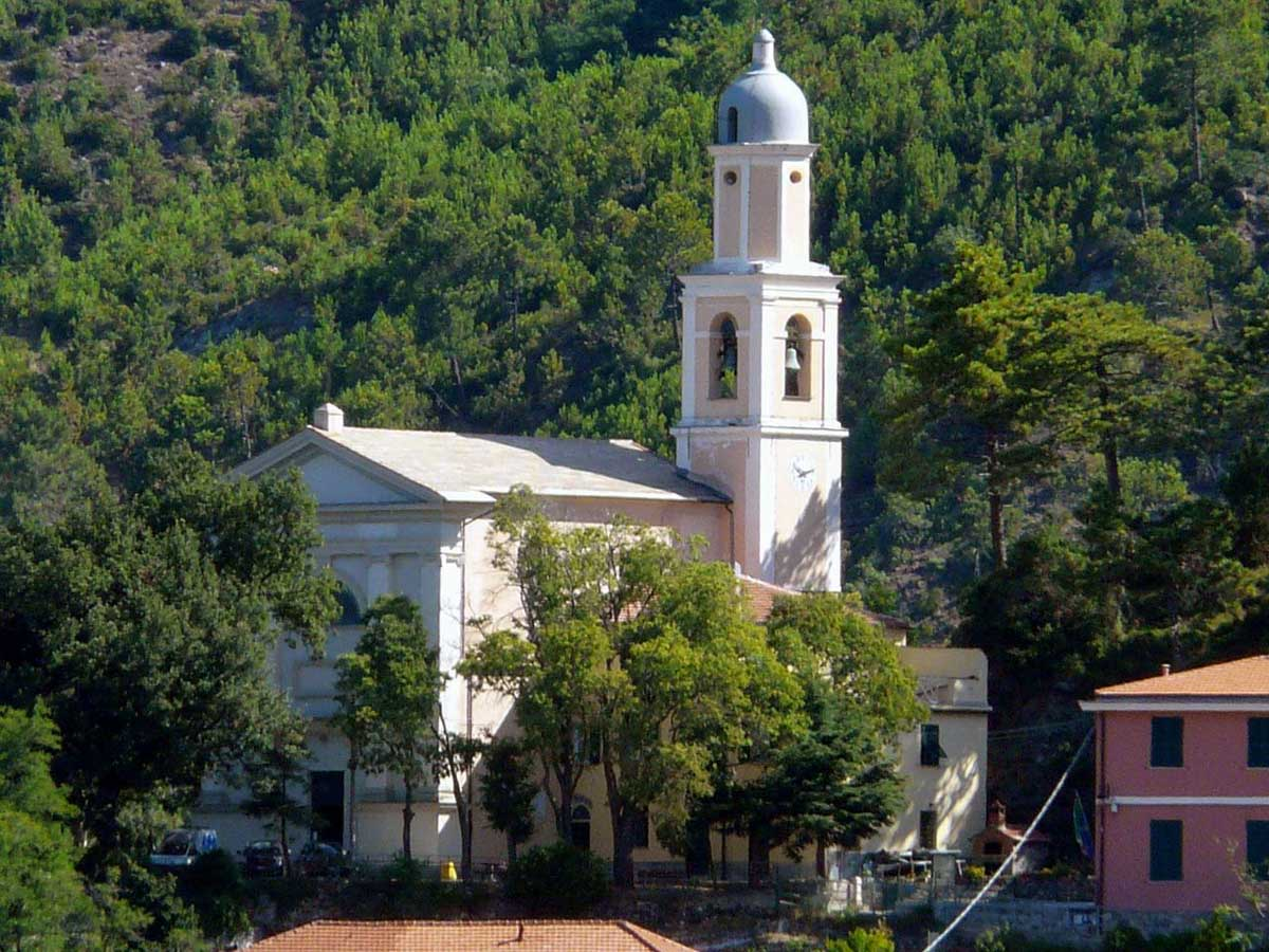 Chiesa San Lorenzo - Castagnola - Framura