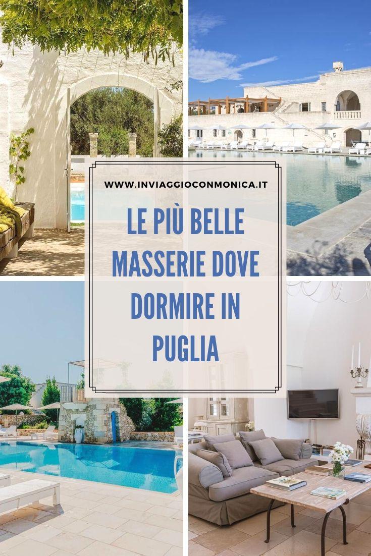 Le più belle masserie dove dormire in Puglia