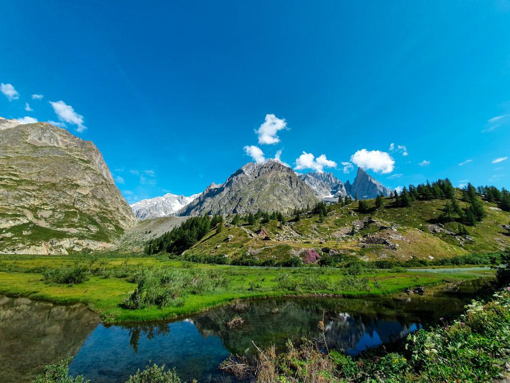 Piana Lago Combal Val Veny