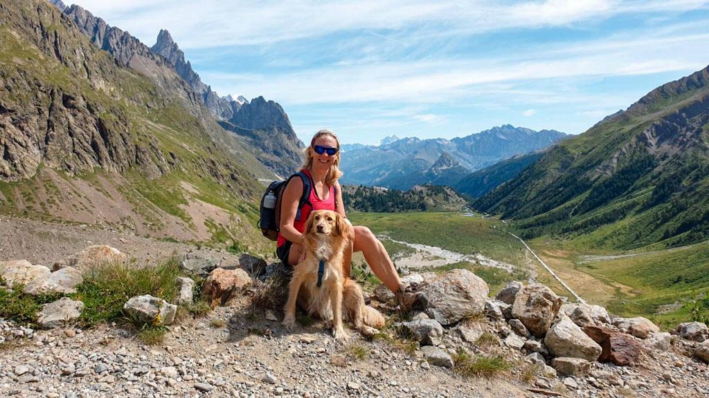Monica - Trekking in Val Veny