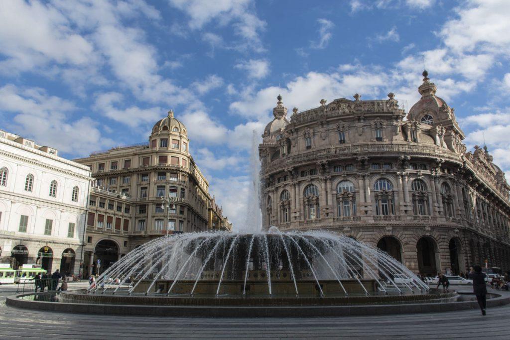 Genova Piazza De Ferrari