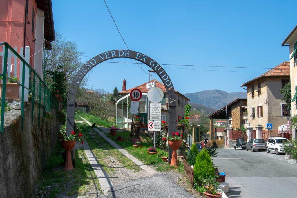 Sentiero dell'Antica Guidovia Genova