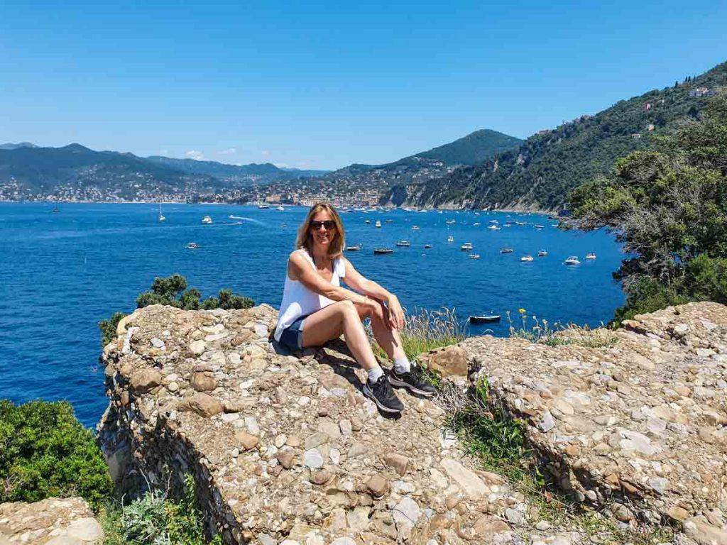 Punta Chiappa In viaggio con Monica