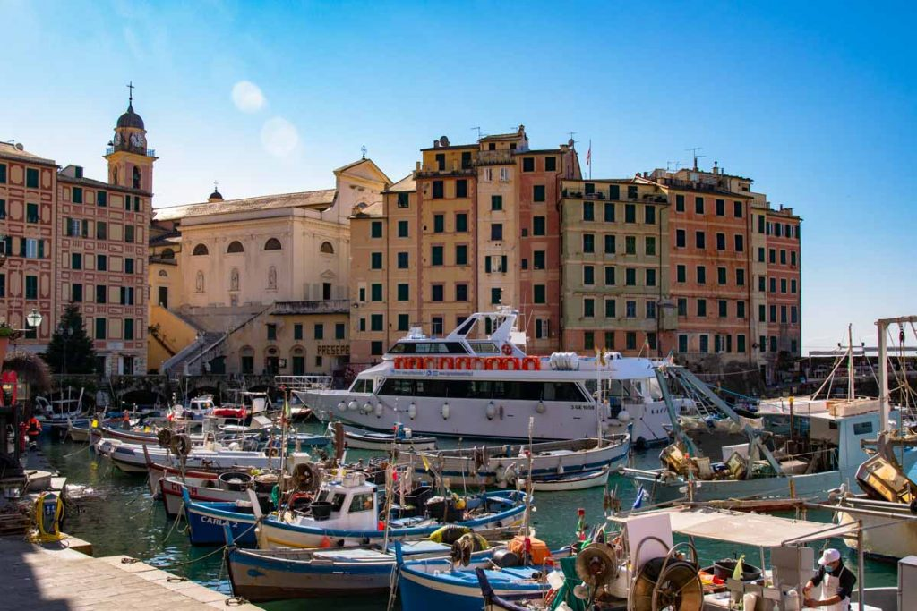Liguria Camogli Porto