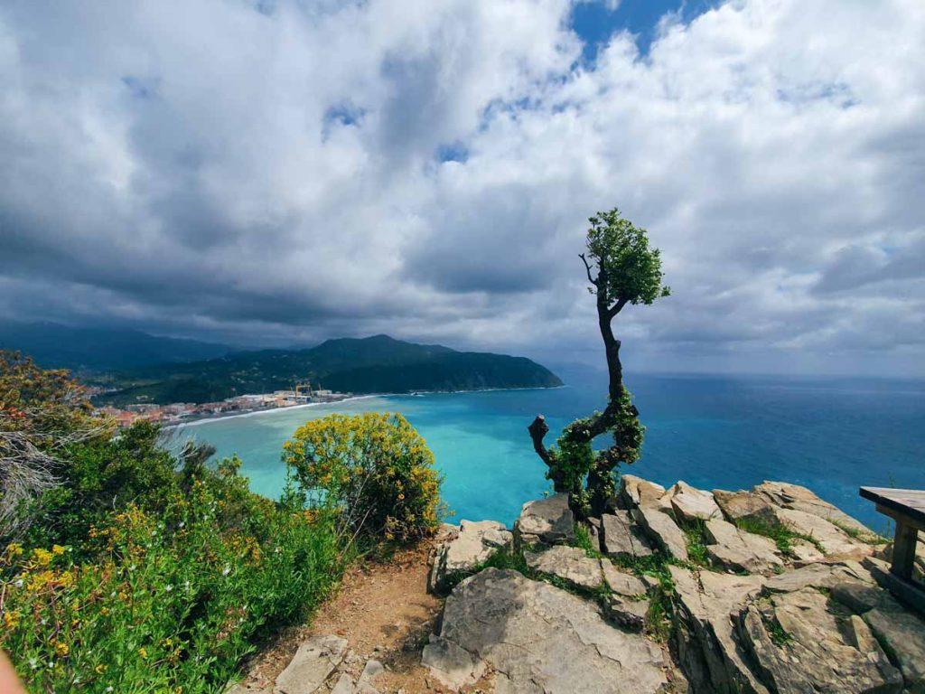 Punta Manara panorama