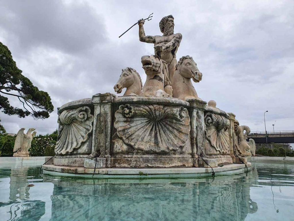 Villa del Principe Statua Nettuno