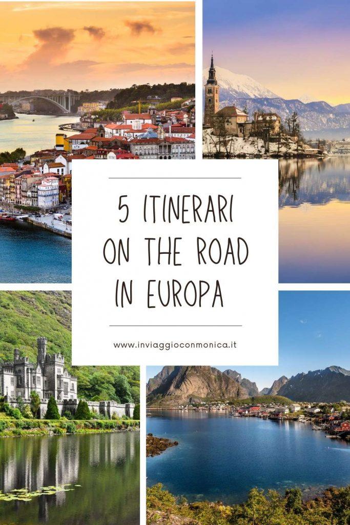 itinerari on the road in europa