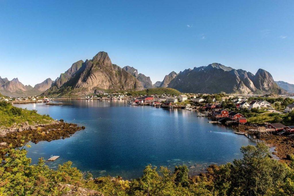Viaggio on the road Norvegia